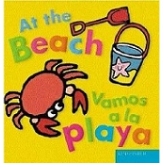 At The Beach Vamos A La Playa Bilingual Board Book English Spanish